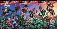 JUSTICE LEAGUE VS SUICIDE SQUAD #1 BART SEARS SET OF 3 CONNECTING COVERS DC 2016