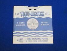 1949 VINTAGE HONGKONG COLONY (CHINA) VIEW-MASTER REEL & SLEEVE #4810
