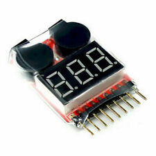 DRONE SAVER-RC Lipo Battery Low Voltage Alarm 1S-8S Buzzer Indicator Tester