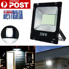 200w LED Flood Light Cool White Floodlight Outdoor Garden Lamp Waterproof Ac240v
