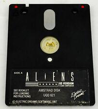 Jeu ALIENS (US Version) pour AMSTRAD DISK disquette UQD 621 : fonctionne