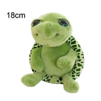 18CM Cute Big Eyes Green Tortoise Turtle Sea Animal Stuffed Plush Kid Toy Pillow