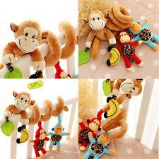 Infant Baby Pram Crib Stroller Musical Toys Newborn Bed Hanging Rattle Soft Play