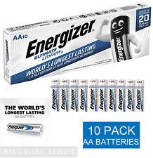 10 X ENERGIZER AA ULTIMATE LITHIUM BATTERIES 1.5v LR6 L91 (10 PACK) EXP. 2039