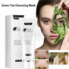 Dr.Sugarm Green Tea Blackhead Face Mask Skin Care Remove Acne Deep Cleansing 40g