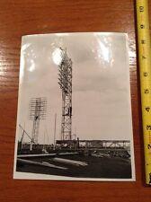 Sporting News Seal Property Press Photo Stadium light tower construction NY Tele