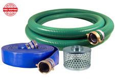 Jgb Enterprises Eagle Hose Pvcaluminum Watertrash Pump Hose Kit 2 New