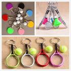 3D Badminton Table Tennis Ball Ping Pong Sports Pendant Keyring Keychain Gift