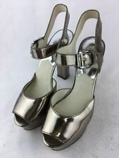 Michael Kors Leather Medium (B, M) 9.5 Heels for Women
