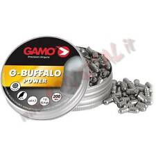 3 CONF PIOMBINI GAMO BUFFALO POWER 1G DIABOLO CAL 4.5mm CARABINA LUNGHE DISTANZE