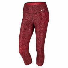 #346 NWT XS Nike Legend 2.0 Mezzo Capri TGT Leggings II women NEW red 622191-660