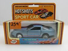 Hot Shots 1984 CORVETTE Die-Cast Metal Toy Sport Car With Pull Back Action