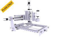CNC Router Plans ,Incude 65x45cm,65x65cm,65x85cm information (iD2CNC LR15 v.1.0)