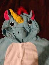 Kids Unicorn Kigurumi Animal Cosplay Costume Pajamas Sleepwear Halloween 3T