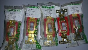 (5) Bryant Tech Spec AC Switch #4903-#4901 20A 125-277V NEW Electrical Parts