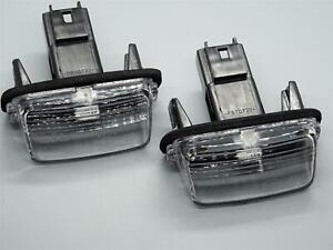 2 x Led Nummernschild Beleuchtung für Peugeot 206 207 307 6340A3