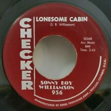 Sonny Boy Williamson Checker 956 LONESOME CABIN/TEMPERATURE 110 (GREAT BLUES 45)