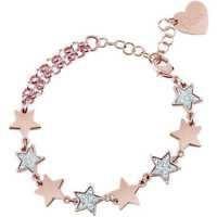 Bliss Glittermania, Armband Damen mit Sternen, Bronze Rosen', Neu (20084063)