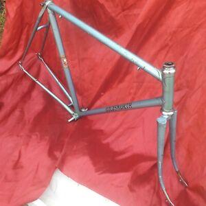 vintage 1960s Holdsworth light weight steel road frame and forks 56cm