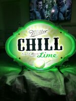 MILLER Neon LED SIGN, BEER SIGN(Very Rare)