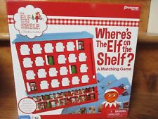 Where's the Elf on the Shelf Matching Game New