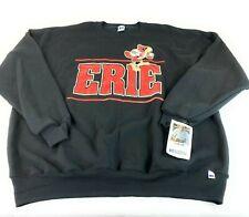 VTG New Mens Big ERIE BAYHAWKS NBA G-League Logo Sweater Sweatshirt 3XL Rare
