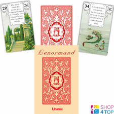 RED OWL BY MLLE LENORMAND 36 CARDS DECK ESOTERIC FORTUNE TELLING AGM NEW