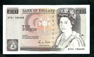 Bank of England (P379e) 10 Pounds 1988 Gill VF+