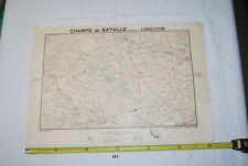 AF1 Carte - Champs de Bataille - Ed Perin - LONGUYON - WW1 WW2 Planche 9