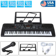 61-Key Digital Music Piano Keyboard - Portable Electronic Musical Instrument New