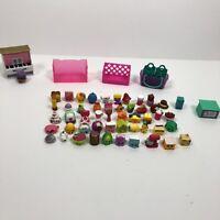 Shopkins Lot 60 Pieces 51 Figures 9 Accessories Variety Seasons No Duplicates
