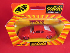 Solido - BMW M1 - Red - Red Wheel Trims - 1209 - 1.43 - Nr Mint - Fast Postage
