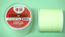 3x500m High abrasion resistance monofilament fishing line(0.35mm 20 lb)