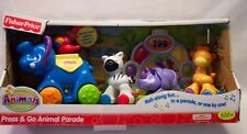 2008 Fisher-Price Musical Press & Go Animal Parade Playset New In Box