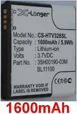 Battery 1600mAh Type 35H00190-03M Ba S800 BL11100 for HTC PM66100