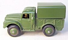 1950's Dinky military #641 ARMY 1 TON CARGO JEEP diecast  excellent x