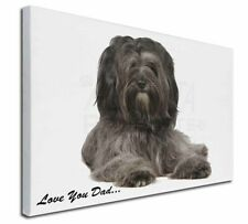 More details for tibetan terrier dog 'love you dad' x-large 30