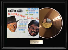 FRANK SINATRA COUNT BASIE ALBUM FRAMED LP DISC  VINYL RECORD DISPLAY RARE!