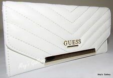 Guess Jeans Wallet CheckBook Holder handbag Purse Hand Bag Tote Coin Large NWT