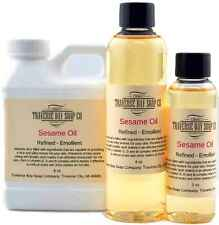 Sesame Oil, Organic, expeller pressed,100% pure, Soap making supplies, massage