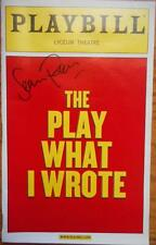 Signed Sean Foley (Only) Playbill The Play What I Wrote Hamish McColl Toby Jones