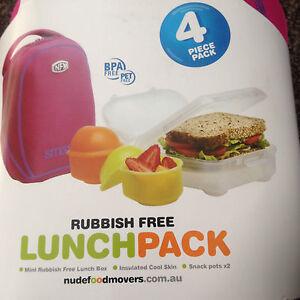nudefoodmovers mini rubbish free lunchbox
