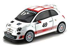 ABARTH 500 1:24 Car Metal Model Die Cast Models Diecast Miniature Toy White