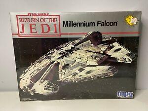 MPC / ERTL MILLENNIUM FALCON KIT 1989 STAR WARS ROTJ NEW SEALED MIB