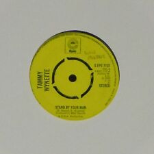 "TAMMY WYNETTE 'STAND BY YOUR MAN' UK 7"" SINGLE"