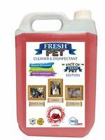 Fresh Pet Kennel Disinfectant And Deodoriser - 5L - Cherry