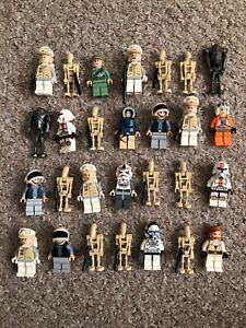 Lego Star Wars Minifigures JOB LOT / BUNDLE - SOME RARE FIGURES