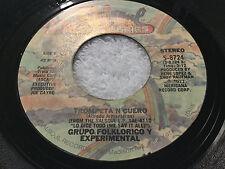GRUPO FOLKLORICO Y EXPERIMENTAL NUEVAYORQUINO / TROMPETA N CUERO / 45RPM