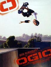 Ogio 2005 Bob Burnquist skateboard promo poster Mint!