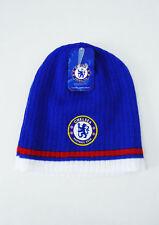 Chelsea FC Soccer BEANIE Sports Cap Knit Hat Blue New